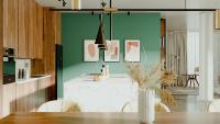 Thea Render 3.0 kann Innenraum-Renderings mit modernen Texturen, physikalisch exakter Beleuchtung und KI-Entrauschung erzeugen. Bildquelle: Altair