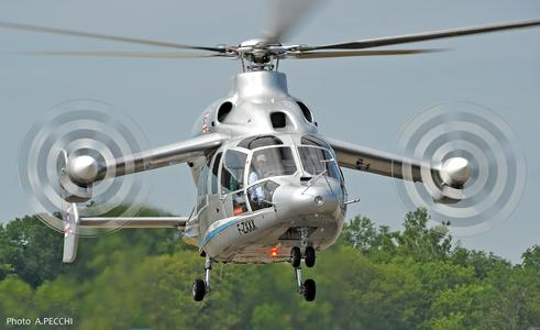 X3 in flight (© Copyright Eurocopter, Anthony Pecchi)