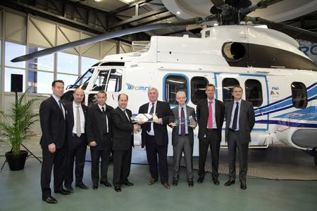 The delivery ceremony © Copyright Eurocopter Lorette Fabre