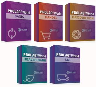 Die verschiedenen PROLAG®World Produktpakete