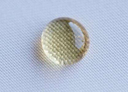 Nano-functionalised textiles repel water and dirt. © Hohenstein Institute