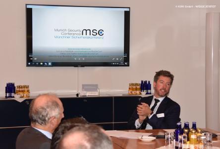 Dr. Benedikt Franke - Keynote Speaker bei den WIESBADENER SICHERHEITSGESPRÄCHEN 20181107