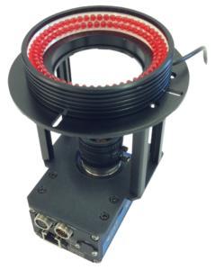 smart Kamera mit Ringlicht und Halterung