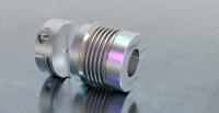 Plug-in shaft coupling for high-speed applications
