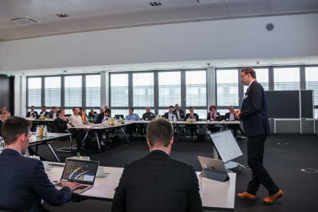 Gut besucht: das Expertenforum Sales Management 2018