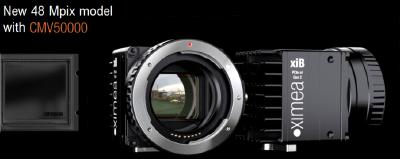 8K Camera from XIMEA with 48 Mpix now released