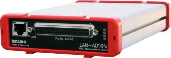 LAN data acquisition system LAN-AD16f