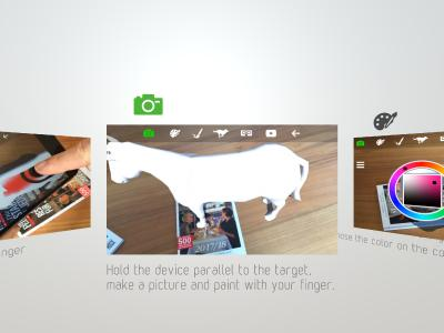 3D Coloring Book App in Augmented Reality (AR) - highlewelt GmbH ...