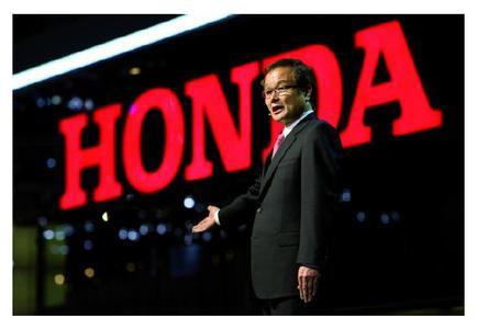 Hat ehrgeizige Ziele: Honda CEO Takanobu Ito