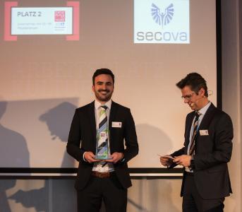 GPtW - Nicolas Lulay nimmt Auszeichnung 2017 entgegen