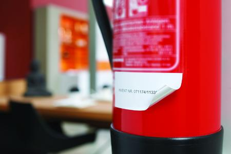 SMARTRAC ON METAL TAG Fire Extinguisher