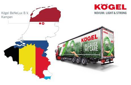 Kögel BeNeLux responds to considerable increase in demand