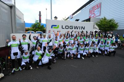 Logwin celebrates a successful event for customers and colleagues at the Eschborn-Frankfurt classic public cycle race while raising money for Save the Children