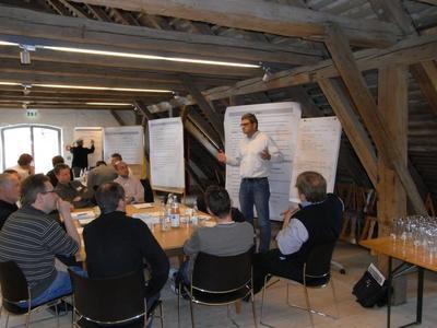 Klimaschutzkonferenz II im Rahmen des Integrierten Klimaschutzkonzepts für die Kreisstadt Ebersberg von KlimaKom und Green City Energy
