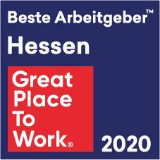Accso erreicht Platz 4 beim Wettbewerb «Beste Arbeitgeber in Hessen 2020» von Great Place to Work®