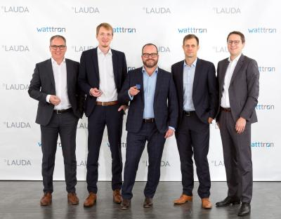 LAUDA starts cooperation with watttron