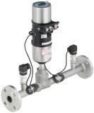 Luftmengenregler mit geschlossenem Regelkreis: Zuverlässige Luftmengenregelung für die stabile Förderung von Schüttgütern. Quelle: Bürkert Fluid Control Systems
