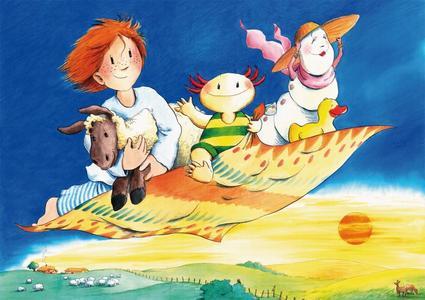 Das Poster, das hoffentlich bald viele Kinderzimmer schmückt, ist im Texolotl-Magazin enthalten / ©Franziska Harvey | OEKO-TEX®