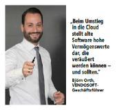 VENDOSOFT-Geschäftsführer Björn Orth über die Refinanzierung der Cloud