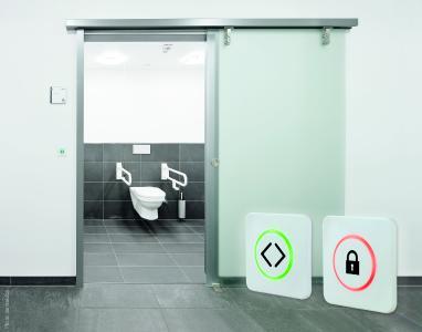 WC-Anwendung mit CleanSwitch Lock