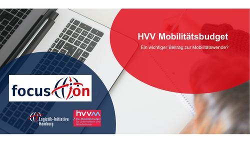 focus.on: HVV Mobilitätsbudget. Ein wichtiger Beitrag zur Mobilitätswende?