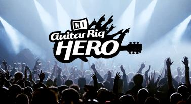 Logo des Guitar Rig Hero-Wettbewerbs