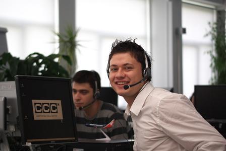 Cosmin Marin, ausgezeichneter Sales Agent, CCC Bukarest