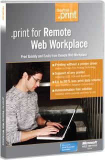 ThinPrint .print für Remote Webarbeitsplatz