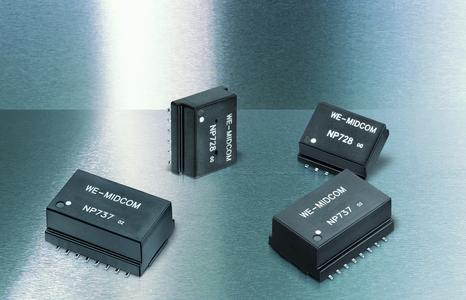 LAN-Übertrager von Würth Elektronik