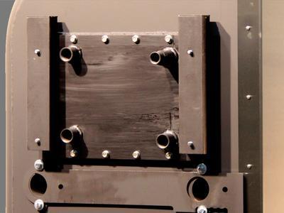 Wasserkreislaufanschlüsse beim Typ 01 10W