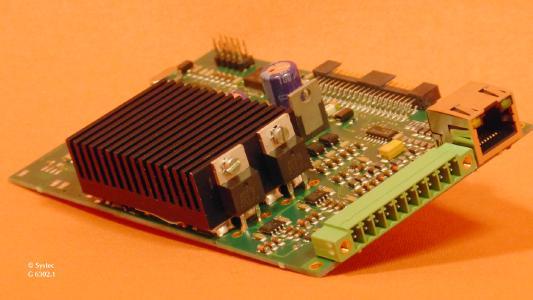 Ein Blick auf die neue Leistungskarte iPM 550 für Xemo-Schrittmtorsteuerungen
