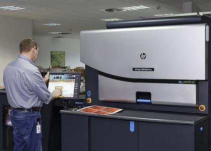 HP Indigo 7800 Laudert