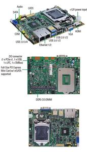 "The World's Smallest 3.5"" Embedded Board Based on Intel® LGA1150 Socket - CAPA880"