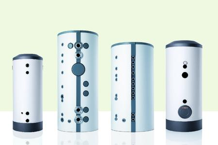 The new free-standing cylinders (from the left to the right): SBP cool, SBP SOL, SBS SOL, SBB SOL