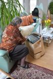 Assistenzrobotik für häusliche Pflege durch videobasiertes Angehörigennetzwerk © SIBIS Institut