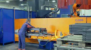 Durch den Mehrstationen-Aufbau der Anlagen kann die Be- und Entladung zeitgleich zum Schweißprozess stattfinden.