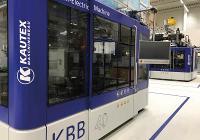 Kautex Maschinenbau presents KBB bottle machine at NPE 2018