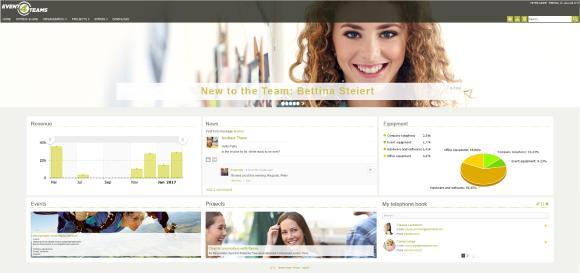Screenshot Digital Workplace