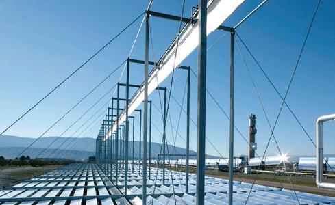 Fresnel power station in Almería