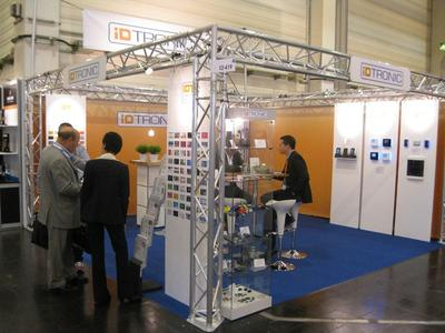 Messestand Security