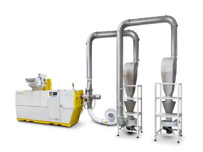 "NGR on the Interpack 2014 with high performance recycling solution ""Film-to-Pellet"""