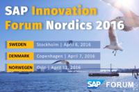 Westernacher to be exhibitor at the SAP Innovation Forum Nordics 2016 in Stockholm, Copenhagen and Oslo