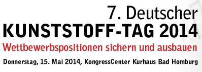 7. Deutscher Kunststoff-Tag 2014