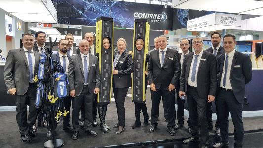 Das Messe-Team von Contrinex freute sich mit CEO Annette Heimlicher über die gestiegenen Besucherzahlen und guten Kontakte