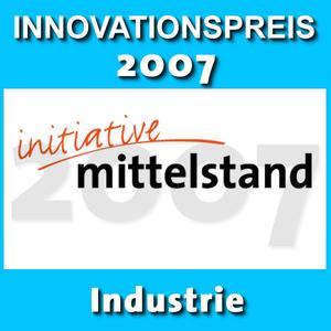 Logo Innovationspreis 2007 Industrie
