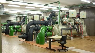 Zu den Kunden von Rütgers zählt auch das ZDF: Im Bild eine Kühlanlage am Sitz des Fernsehsenders auf dem Mainzer Lerchenberg.