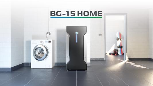 Der BG-15 in der kleineren Home Edition eignet sich perfekt für Nutzer mit niedrigem bis normalem Energiebedarf.