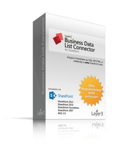 Produktbox: Layer2 Business Data List Connector für SharePoint