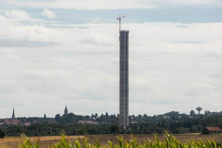 Topping-out ceremony in Rottweil: ThyssenKrupp test tower passes next milestone