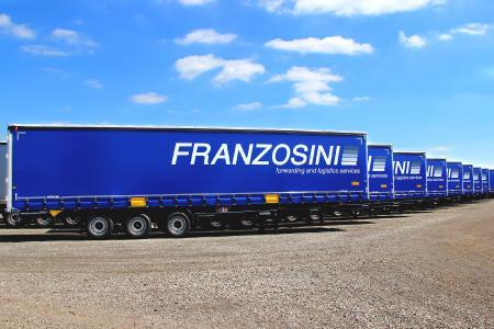 Cargo Rail Kögel à l'effigie de Franzosini